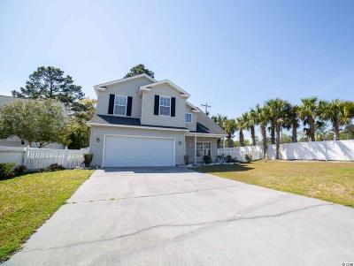 Murrells Inlet Single Family Home For Sale: 206 Chesapeake Ln.