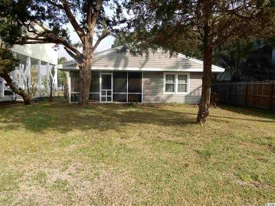 North Myrtle Beach Single Family Home For Sale: 4620 Woodland St.
