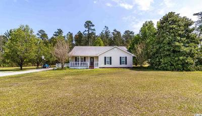 Loris Single Family Home Active Under Contract: 4815 Highway 554
