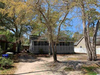 Surfside Beach Single Family Home Active Under Contract: 1020 South Myrtle Dr.