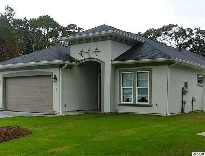 Myrtle Beach SC Single Family Home For Sale: $534,900
