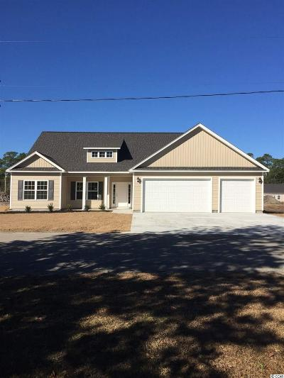 Loris Single Family Home For Sale: 598 Loblolly Ln.