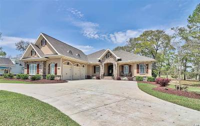 North Myrtle Beach Single Family Home For Sale: 4305 Grey Heron Dr.