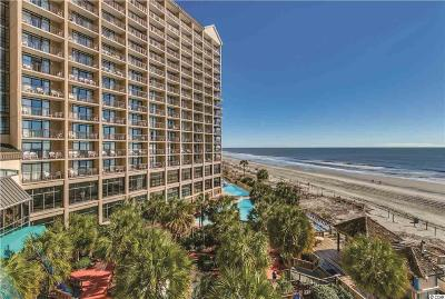 North Myrtle Beach Condo/Townhouse For Sale: 4800 S Ocean Blvd. #721