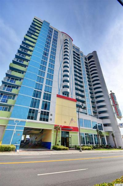 North Myrtle Beach Condo/Townhouse For Sale: 2100 N Ocean Blvd. #330