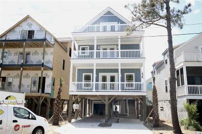 Surfside Beach Single Family Home Active Under Contract: 117-B 16th Ave. S