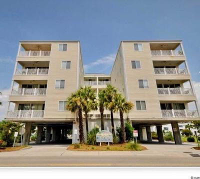 North Myrtle Beach Condo/Townhouse For Sale: 4604 S Ocean Blvd. #4-A