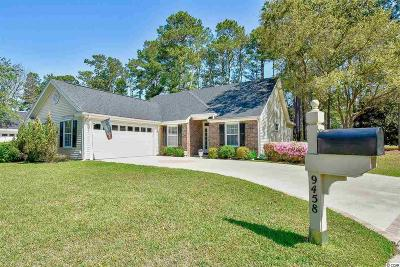 Murrells Inlet Single Family Home For Sale: 9458 Pinckney Ln.