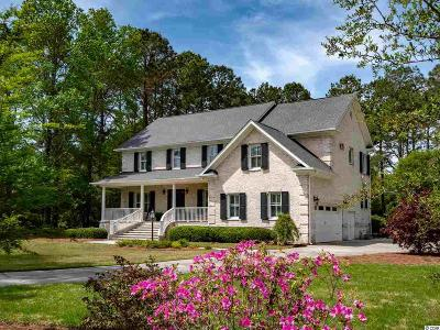 Pawleys Island Single Family Home For Sale: 187 Winding Creek Dr.