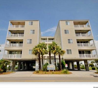 North Myrtle Beach Condo/Townhouse For Sale: 4604 S Ocean Blvd. #1D