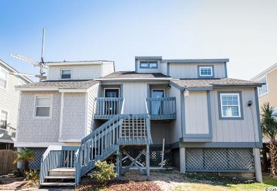 Surfside Beach Single Family Home For Sale: 213 A N Ocean Blvd.