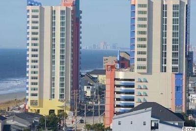 North Myrtle Beach Condo/Townhouse For Sale: 3500 N Ocean Blvd. #407