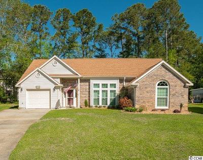 Murrells Inlet Single Family Home For Sale: 2118 Green Heron Dr.