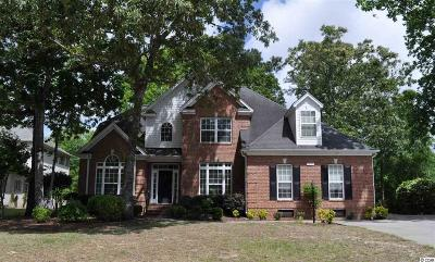Murrells Inlet Single Family Home For Sale: 219 Wood Cut Ct.