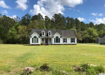 Conway Single Family Home For Sale: 5721 Pauley Swamp Rd.