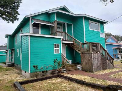 North Myrtle Beach Multi Family Home For Sale: 508 17th Ave. S
