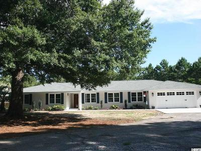 Pawleys Island Single Family Home Active Under Contract: 605 Brace Dr.