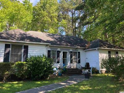 Myrtle Beach Single Family Home Active Under Contract: 138 Cooper River Rd.