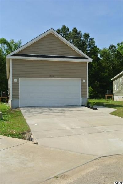 Myrtle Beach Single Family Home For Sale: 3624 Cluster Ln.