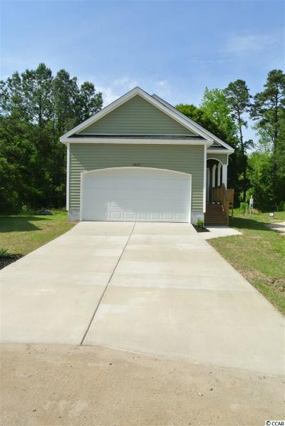 Myrtle Beach Single Family Home For Sale: 3623 Cluster Ln.
