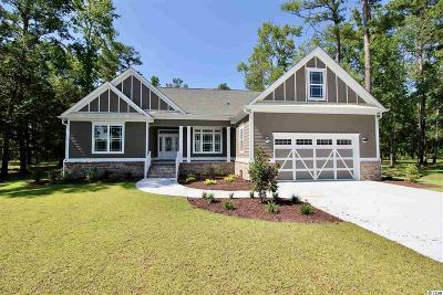 Single Family Home For Sale: 605 Crow Creek Dr.
