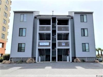 North Myrtle Beach Condo/Townhouse For Sale: 1019 Ocean Blvd. S #A3