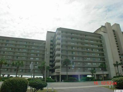 North Myrtle Beach Condo/Townhouse For Sale: 4719 S Ocean Blvd. #109