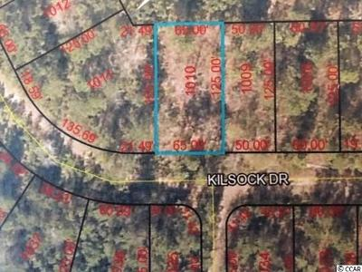 Georgetown County Residential Lots & Land For Sale: 1010 Kilsock Dr.
