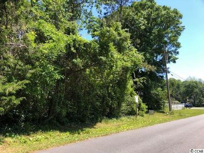 Horry County Residential Lots & Land For Sale: Lot 5, Pt 6 4th Ave. N