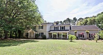 Pawleys Island Single Family Home For Sale: 730 Country Club Dr.