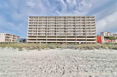 Horry County Condo/Townhouse For Sale: 1709 S Ocean Blvd. #105