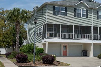 Garden City Beach Condo/Townhouse For Sale: 1001 Kelly Ct. #A