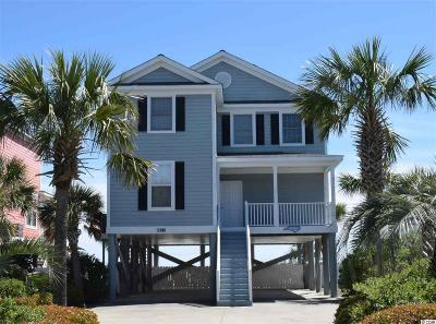 Surfside Beach Single Family Home Active Under Contract: 913 A Ocean Blvd. N
