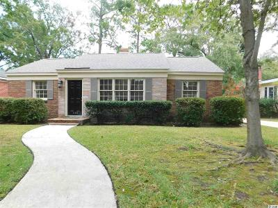 Georgetown Single Family Home For Sale: 1166 Palmetto St.