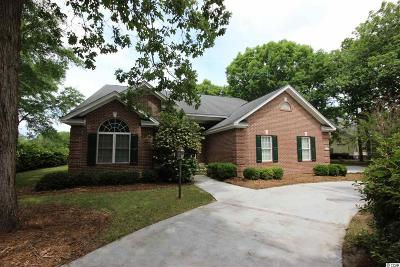Pawleys Island Single Family Home For Sale: 1051 Oatland Lake Rd.