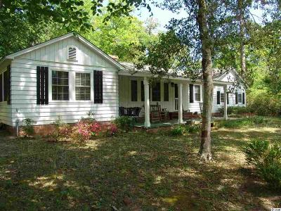 Georgetown Single Family Home For Sale: 614 Pisgah Church Rd.
