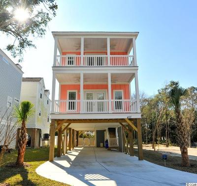 Surfside Beach Single Family Home For Sale: 214 D 10th Ave. S
