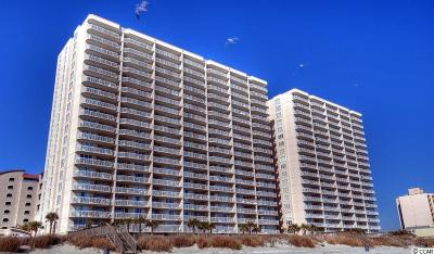 North Myrtle Beach Condo/Townhouse For Sale: 1625 S Ocean Blvd.