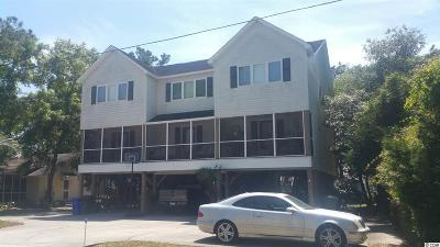Surfside Beach Multi Family Home Active Under Contract: 317 16th Ave. S