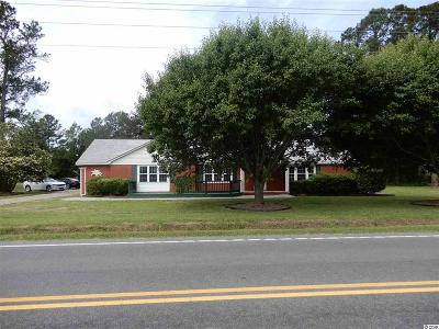 Loris Single Family Home Active Under Contract: 4900 Red Bluff Rd.