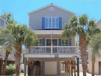 Surfside Beach Single Family Home Active Under Contract: 219a 16th Ave. S