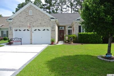 Murrells Inlet Single Family Home For Sale: 1514 Sedgefield Dr.