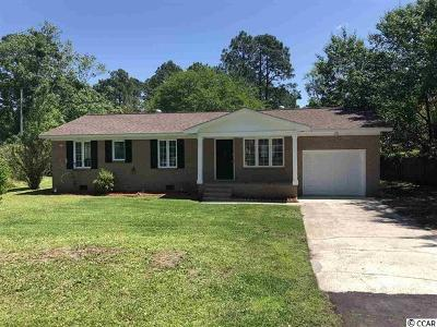Myrtle Beach Single Family Home Active Under Contract: 3912 Heron Circle