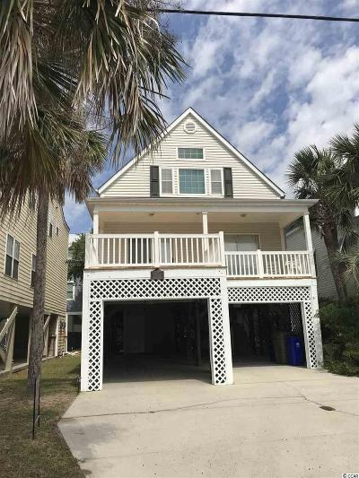 Surfside Beach Single Family Home For Sale: 1014 Ocean Blvd. S