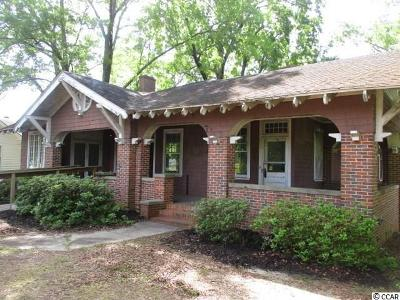 Bennettsville Single Family Home For Sale: 808 Fayetteville Ave.