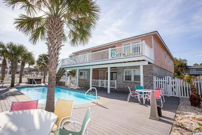 North Myrtle Beach Single Family Home For Sale: 2208 S Ocean Blvd.
