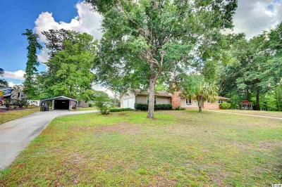 Conway Single Family Home For Sale: 1017 Gravelley Gulley Circle