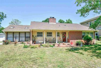 Myrtle Beach Single Family Home For Sale: 4809 Pine Lake Dr.
