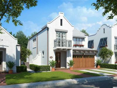 Myrtle Beach Single Family Home For Sale: Tbd Aqua St.