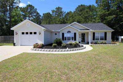 Conway Single Family Home Active Under Contract: 802 Castlewood Ct.